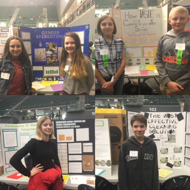 Future Scientists Show Off Their Projects at Northwest Science Expo
