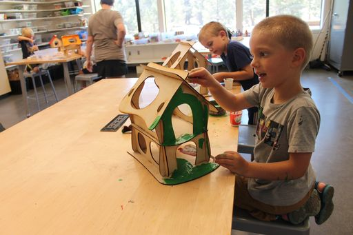 "Innovations and Fun Creations come to Camp CREATE's ""World's Fair""!"