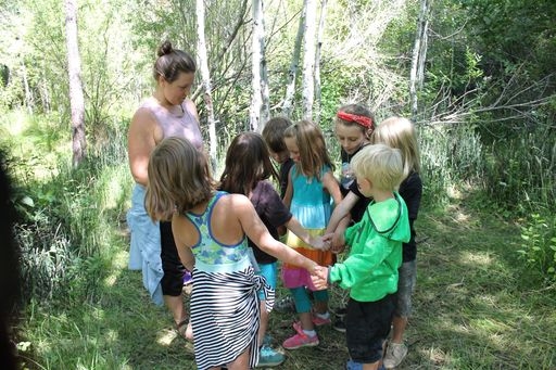 "Campers Practice Naturalist, Survivalist, and Leadership Skills at Camp CREATE's ""Outdoor Leaders"""