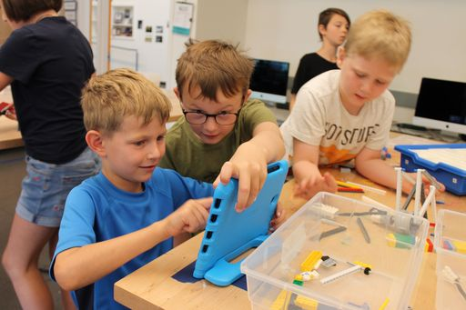 "Students Take Part in Coding, Crafting, and Other ""Amusement Park Adventures"" at Camp CREATE"