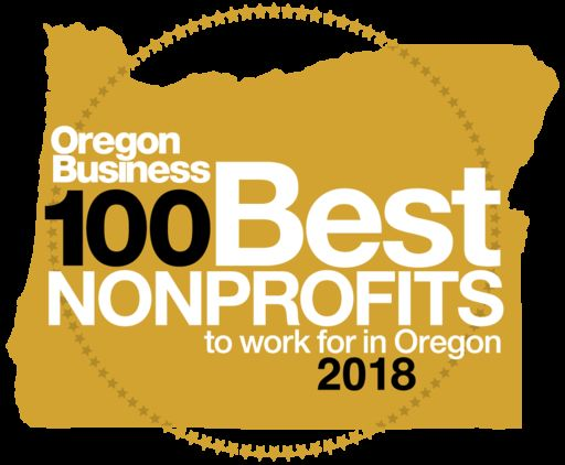 Cascades Academy Named One of the 2018 100 Best Nonprofits to Work for in Oregon by Oregon Business Magazine