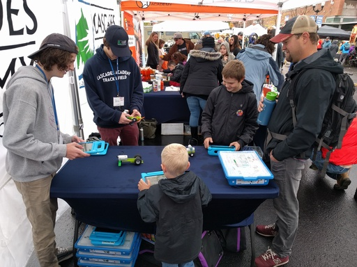 US Students Share Their Passion for Robotics at Fall Festival