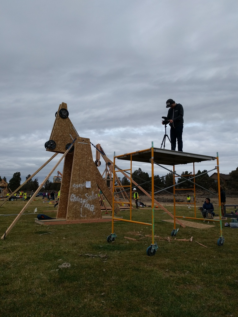 Trebuchet Team Takes First Place