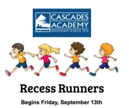 Recess Runners Continues