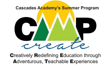 Camp Create Summer Camp Cascades Academy